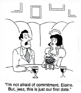 what does the word commitment mean in a relationship