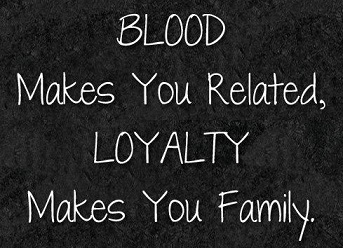Loyalty and filipino family relationships